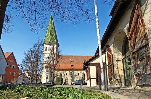 Martinskirche und Schlosspark laden ein