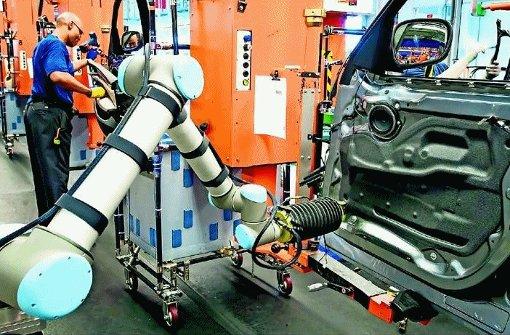 Gemeinsam: Mensch und Roboter