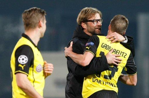 Dortmund zieht ins Achtelfinale ein