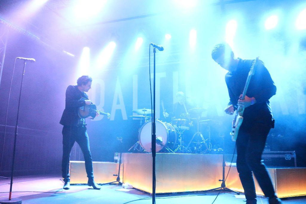 Die Indieband Balthazar spielte im Im Wizemann verträumte Lieder. Foto: L. R. Fotografie