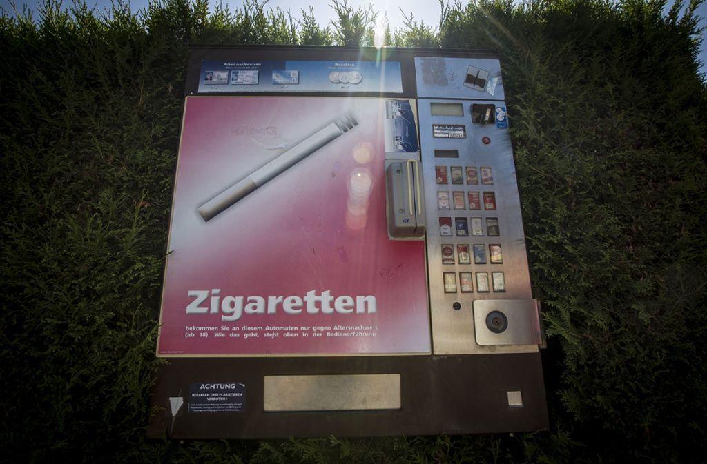 Der Automat war nicht aufgebrochen worden. (Symbolbild) Foto: Lichtgut/Leif Piechowski