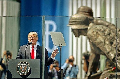 Trump bekennt sich fest zur Beistandspflicht