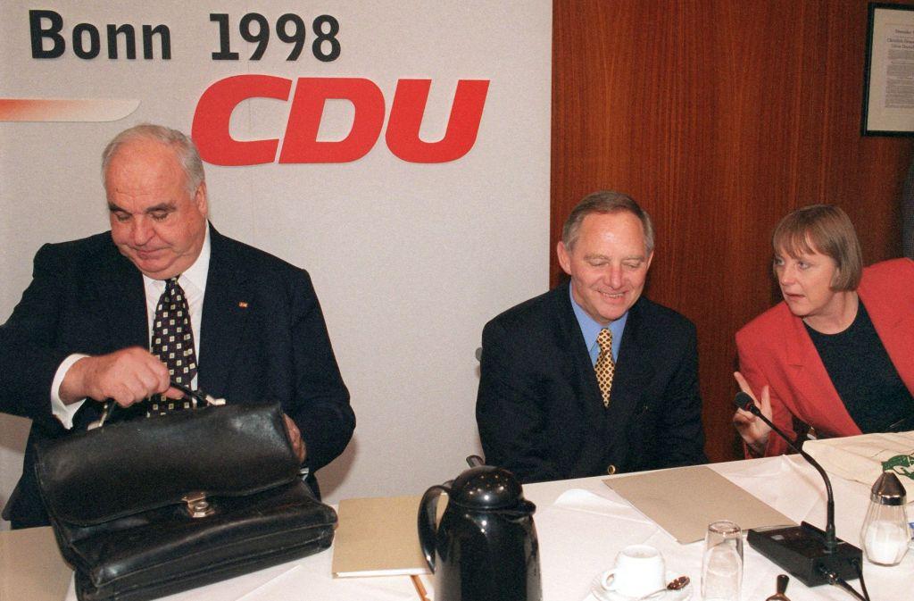 Altkanzler Helmut Kohl (links) prägte die CDU über Jahrzehnte. Foto: dpa