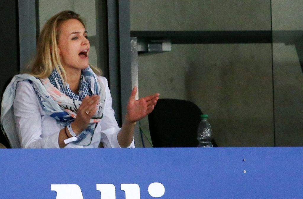 Kim Renkema, Sportdirektorin von Allianz MTV Stuttgart, gehört zu den wichtigsten Kritikern der Doppelrolle von Felix Koslowski. Foto: Baumann