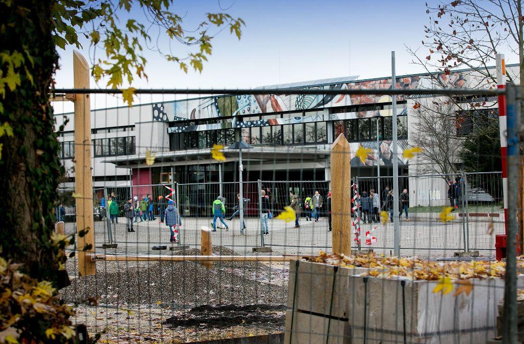 Im Otto-Hahn- und im Heinrich-Heine-Gymnasium sind  eine Generalsanierung und ein Umbau bereits in vollem Gange. Foto: Horst Rudel/Archiv