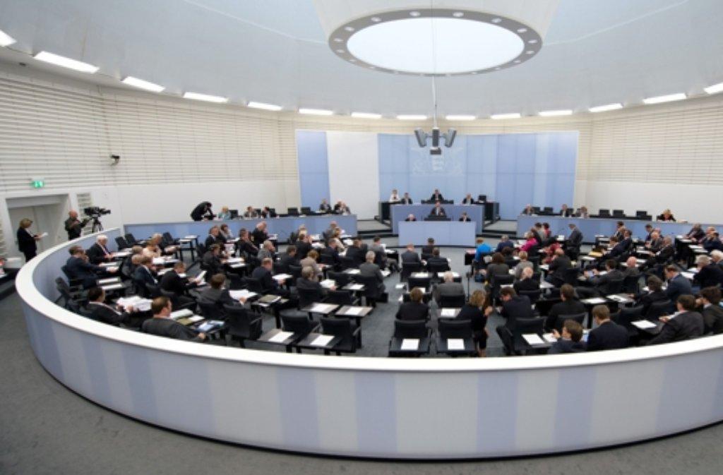 Wie gut kennen Sie den Stuttgarter Landtag? Foto: dpa