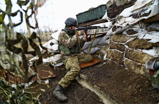 Kriegsgetöse im Donbass