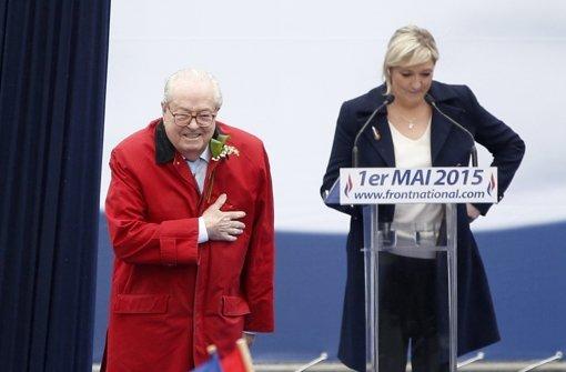 Rechtsextreme entziehen Le Pen den Ehrenvorsitz