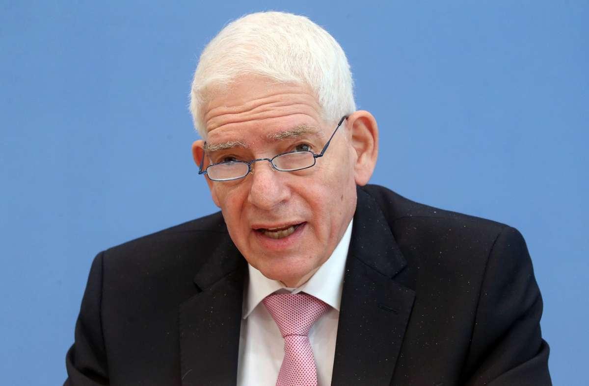 Zentralratspräsident Josef Schuster hatte sich ein schlechteres Abschneiden der AfD erhofft. Foto: dpa/Wolfgang Kumm