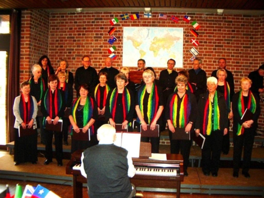 Der Singkreis Neugereut bei seinem Jahreskonzert  im Jahr 2006 Foto: z