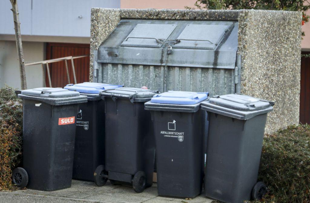Stuttgarter, die derzeit in Quarantäne leben, müssen aus Sicherheitsgründen allen Müll als Restmüll entsorgen. (Symbolbild) Foto: factum/Simon Granville
