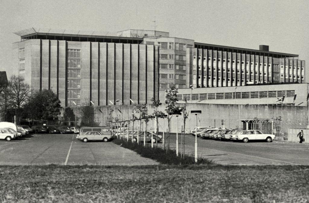 Das Gefängnis in Stuttgart-Stammheim, wie es 1977 ausgesehen hat Foto: Horst Rudel
