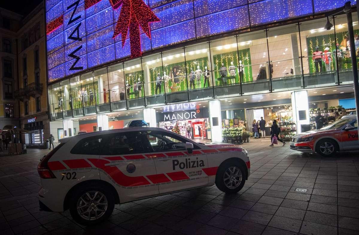 Nach Angaben der Polizei war eine 28-jährige Schweizerin aus zunächst ungeklärten Gründen auf die anderen Frauen losgegangen. Foto: dpa/Pablo Gianinazzi