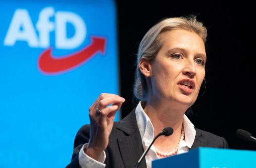 Alice Weidel kandidiert für AfD-Vorsitz