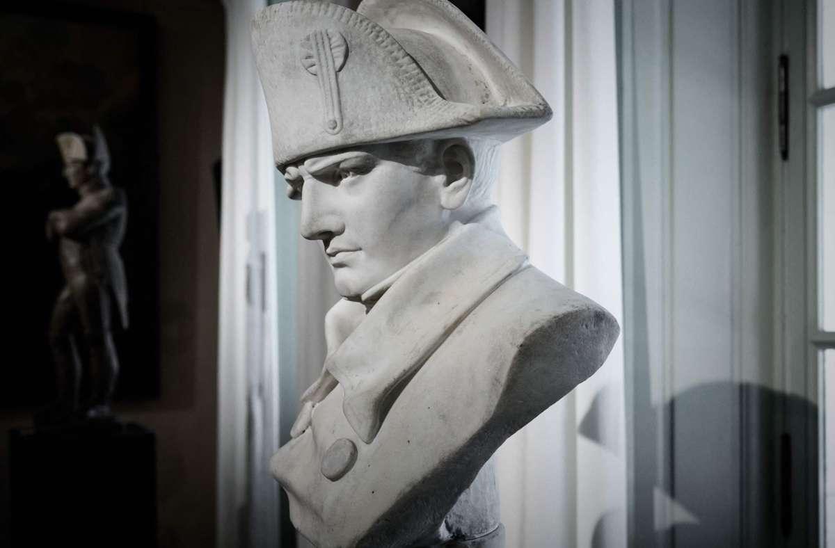 In ganz Frankreich sind Napoleon-Büsten und Statuen zu finden. Die Verehrung wird allerdings nicht von allen Franzosen geteilt. Foto: AFP/PHILIPPE LOPEZ