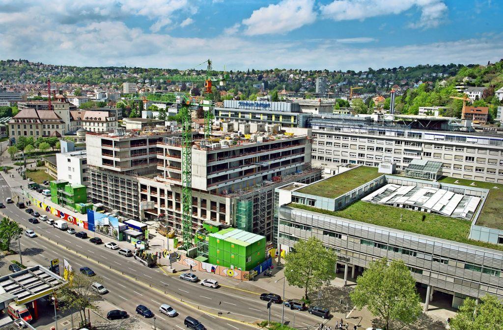 Dubiose  Geschäfte der ehemaligen International Unit belasten das  Klinikum Stuttgart. Foto: Lichtgut/Oliver Willikonsky