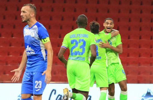 VfL Wolfsburg macht den ersten Schritt Richtung Gruppenphase