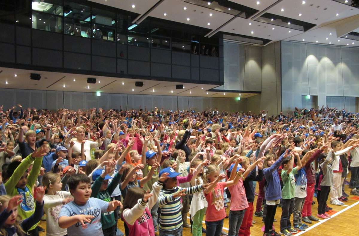 Der Auftritt des Chors der Filderstädter Grundschüler (hier ein Bild von 2015) musste in diesem Jahr wegen Corona abgesagt werden. Foto: Archiv/Malte Klein
