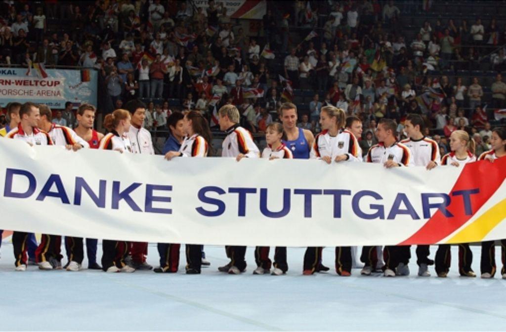 Nach der WM 2007 soll auch die WM 2019 wieder in Stuttgart stattfinden. Foto: Baumann