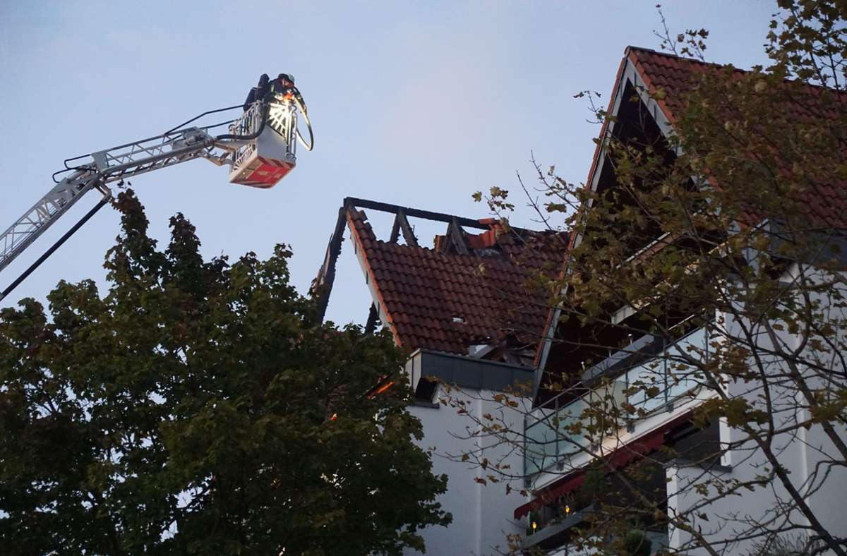 Bei einem  Wohnungsbrand in Schönaich ist hoher Schaden entstanden. Foto: SDMG/Dettenmeyer