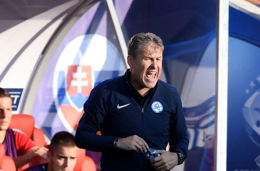 Slowakei-Trainer sauer auf deutsches Team