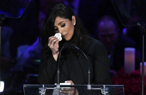 Vanessa Bryant beeindruckt mit emotionaler Rede
