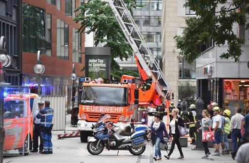 Feuerwehr-Großeinsatz wegen Gebäudebrand