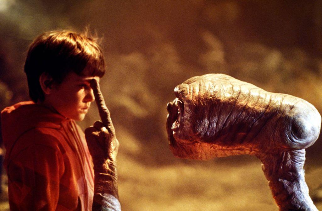 E.T. stattete der Erde 1984 einen Besuch ab. Foto: imago images/Prod.DB/ via www.imago-images.de