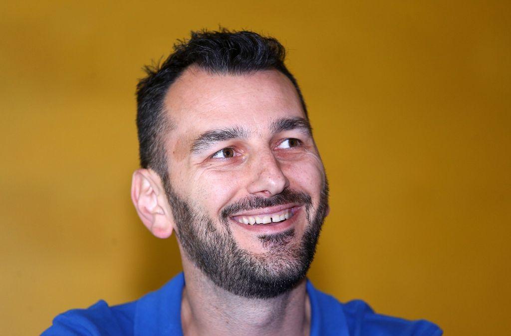 Giannis Athanasopoulos hat bei Allianz MTV künftig das Sagen auf der Bank. Foto: Baumann