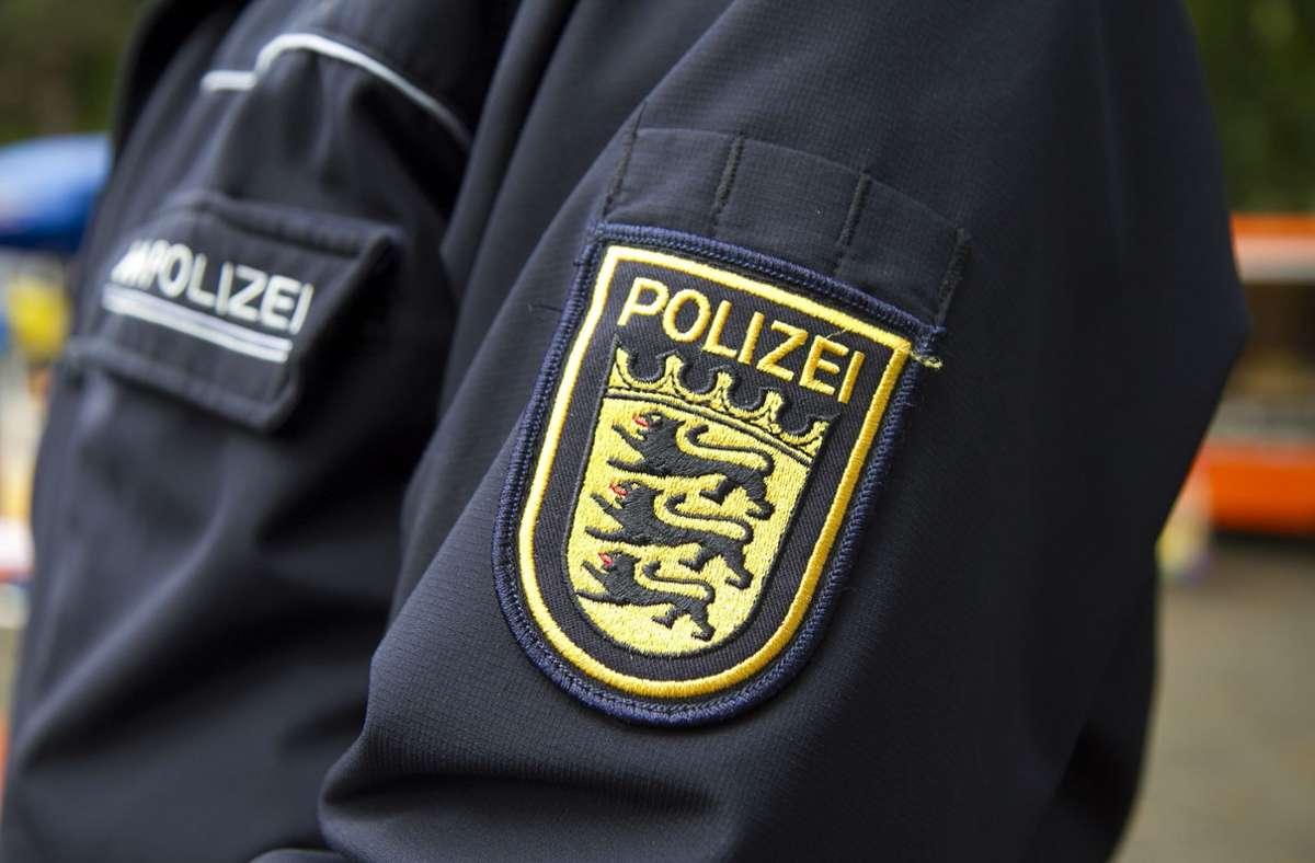 Die Polizei suchte mit mehreren Streifenwagen nach dem Täter, konnte ihn aber nicht finden. Foto: Eibner-Pressefoto/Fleig