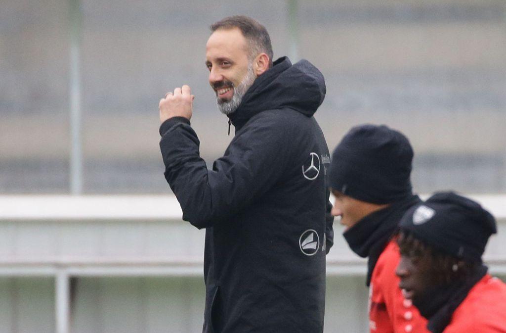Der neue Trainer des VfB Stuttgart, Pellegrino Matarazzo Foto: Pressefoto Baumann/Hansjürgen Britsch