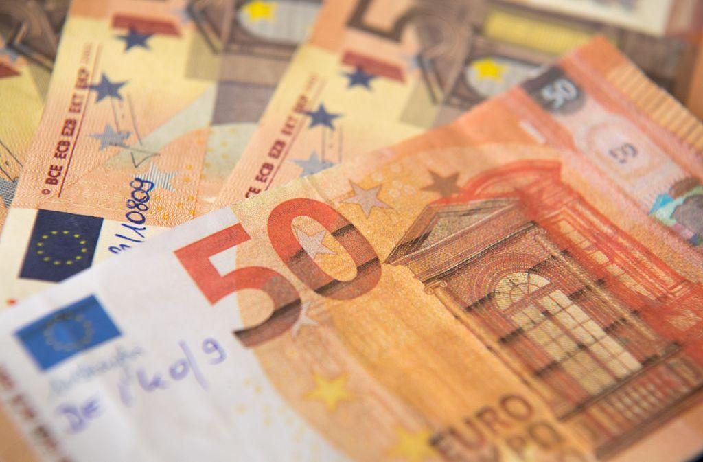 Die Polizei stellte Falschgeldnoten sicher (Symbolbild). Foto: dpa