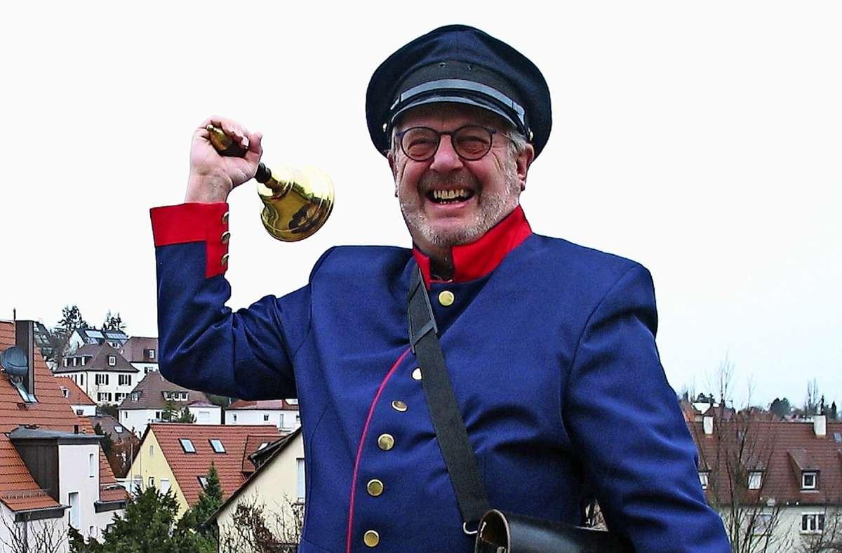 Der Feuerbacher Büttel hofft auf zahlreiche Einsätze in der Zukunft. Foto: Müller-Baji