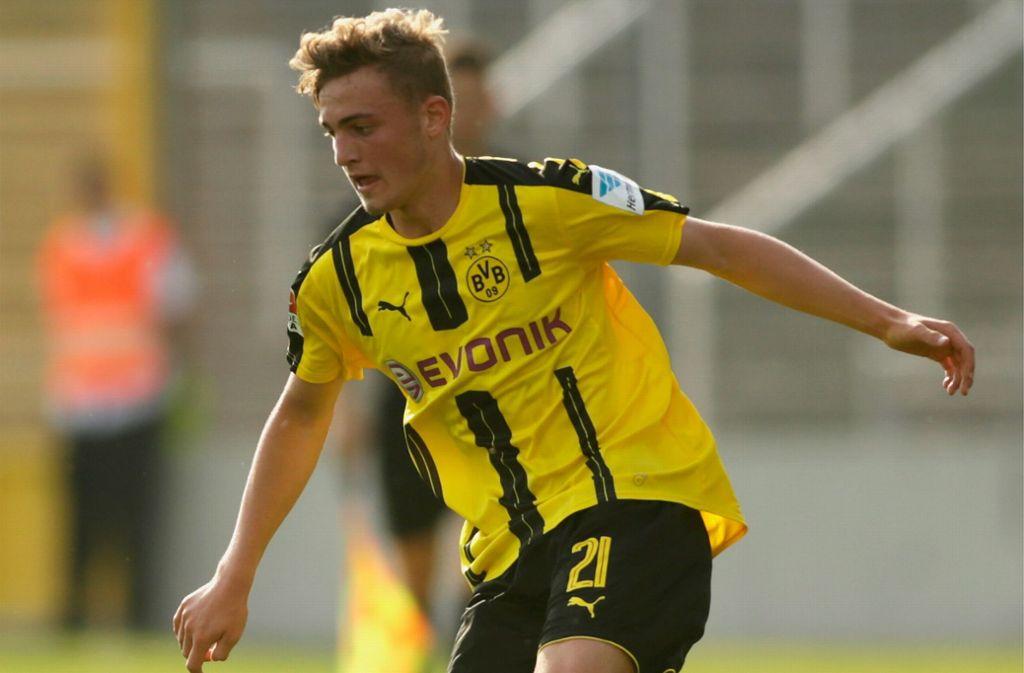 Bis Sommer ein Stuttgarter: Jacob Bruun Larsen kommt vorübergehend vom BVB zum VfB. Foto: Getty