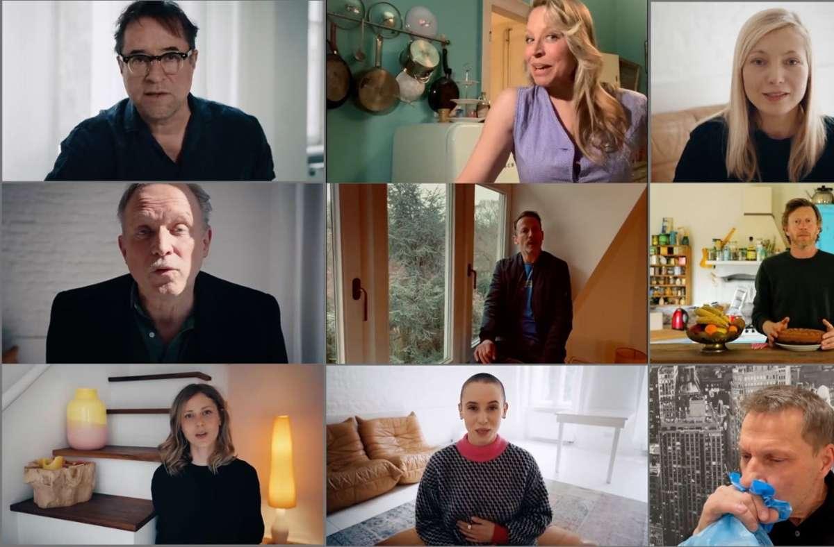 Mit der Aktion #allesdichtmachen haben einige deutsche Schauspieler großes Aufsehen erregt. Foto: dpa