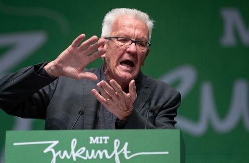 Grüner Ministerpräsident fordert Tempolimit auf Autobahnen