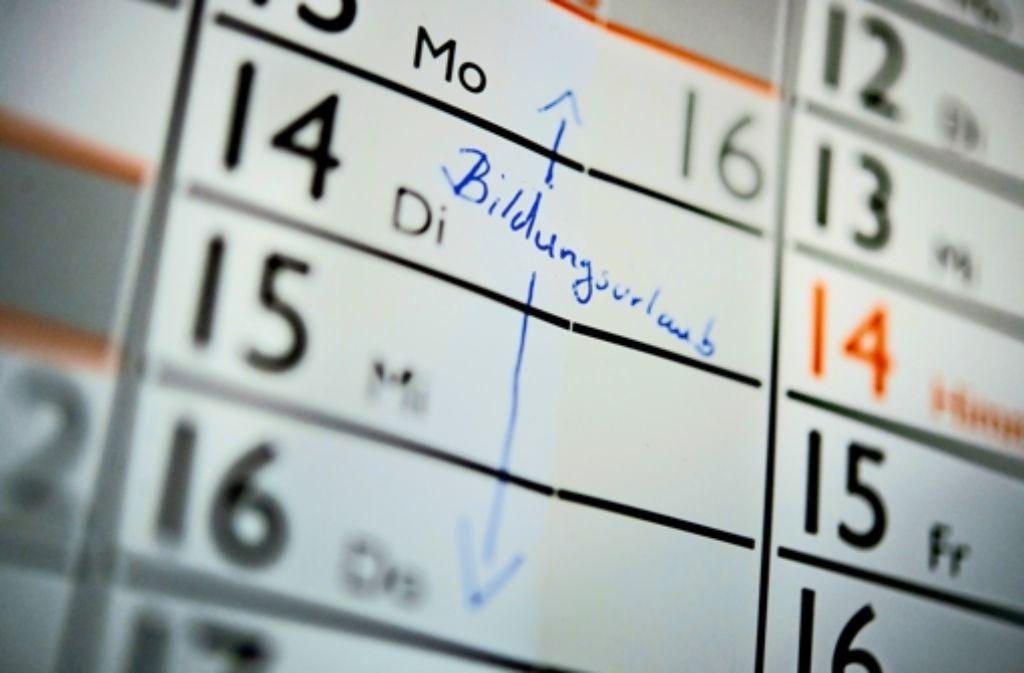 Fünf Tage bezahlte Freistellung  im Jahr stehen jedem Arbeitnehmer im Südwesten  zu – nun sind die Konditionen geklärt. Foto: dpa