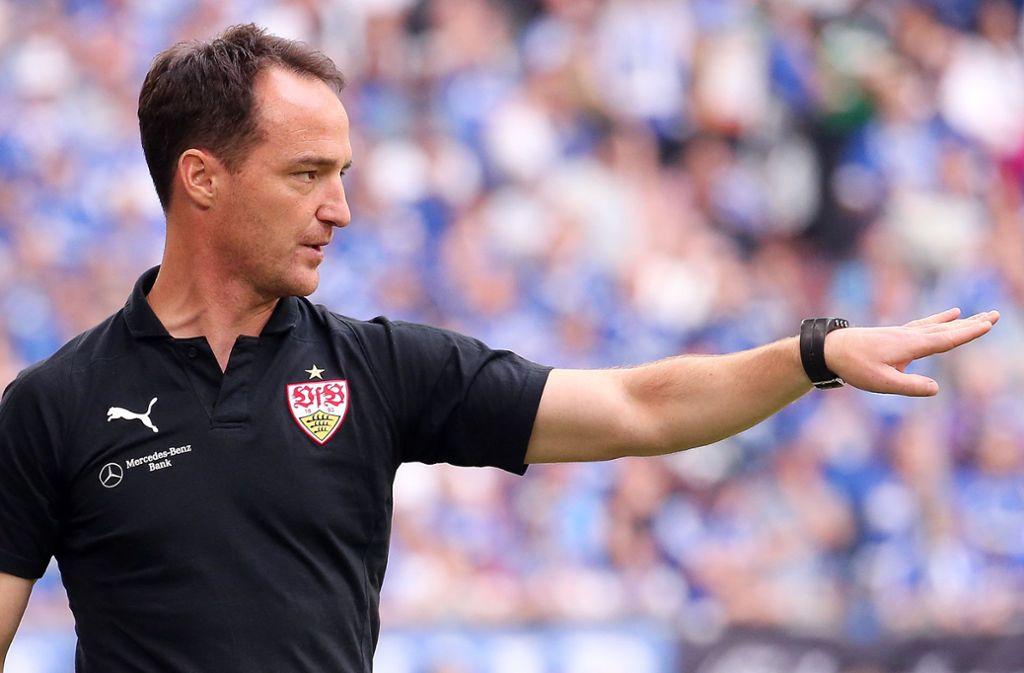 Nico Willig betreut weiter die A-Junioren des VfB Stuttgart. Foto: Baumann