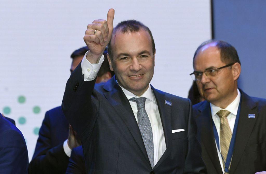 Bodenständig und gleichzeitig bestens vernetzt – der CSU-Politiker Manfred Weber hat viele Unterstützer in Brüssel. Foto: dpa