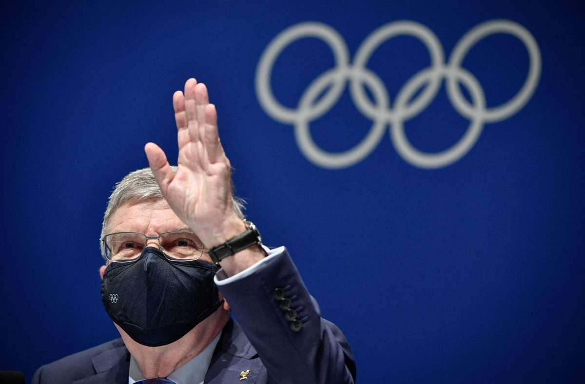 IOC-Präsident Thomas Bach schlug die Änderung vor. Foto: AFP/FABRICE COFFRINI