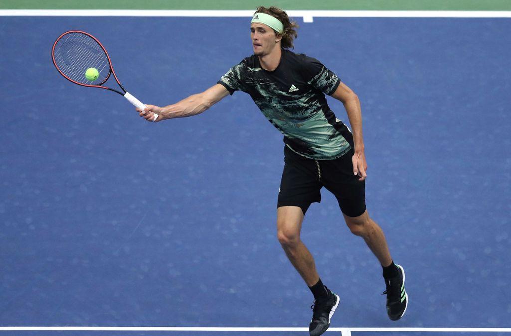 Alexander Zverev sind die US Open vorbei. Foto: AFP