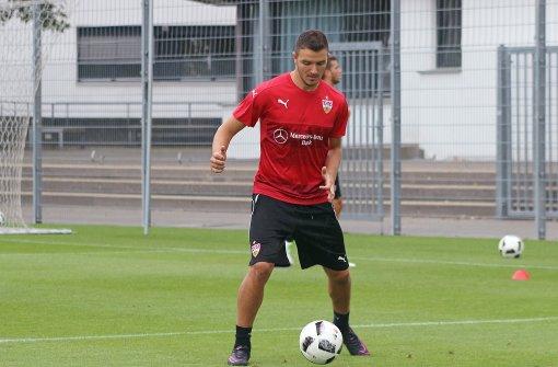 Anto Grgic steht für den neuen VfB