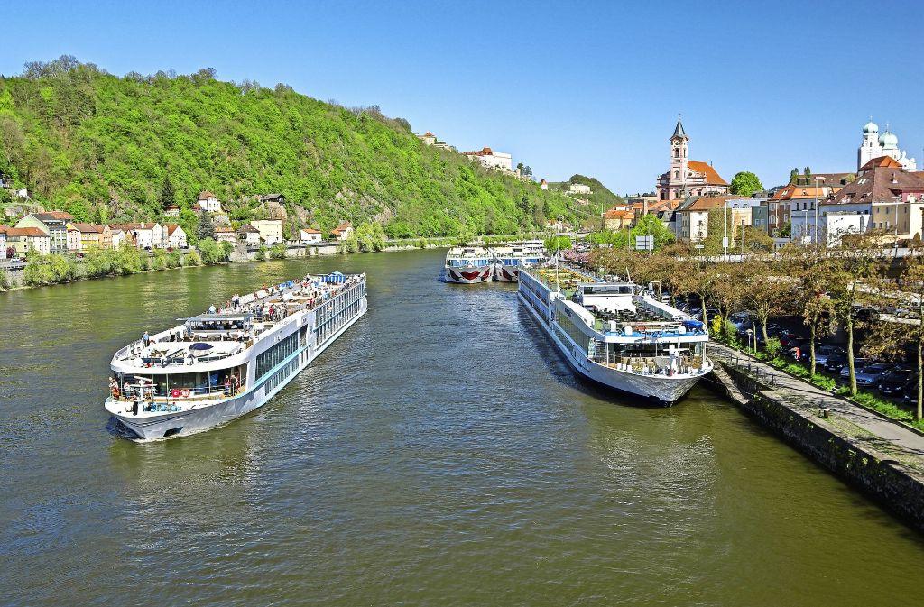 Passau ist oft der Beginn oder das Ende einer Flussreise auf der Donau. Foto: Bergfee/Adobe Stock