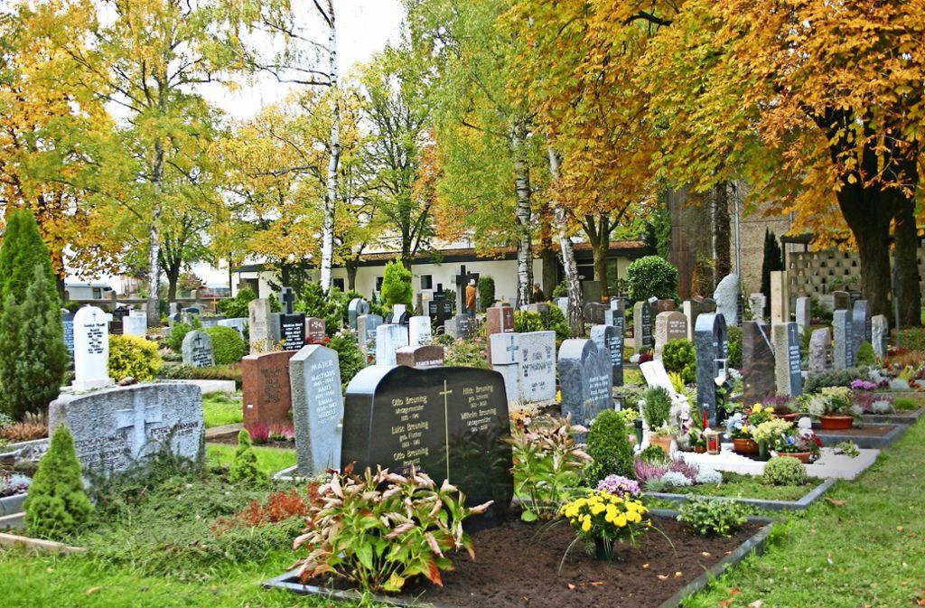 Wohnen direkt neben dem  Friedhof: Auch in Möhringen gibt es  Erweiterungsflächen. Dabei geht es um   zwei Hektar. Foto: Kai Müller