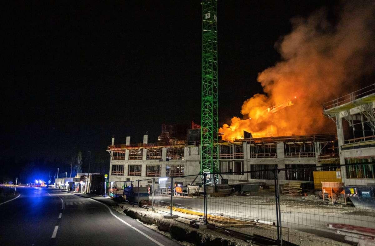 Auslöser des Feuers war vermutlich ein technischer Defekt. Foto: /7aktuell.de   Simon Adomat