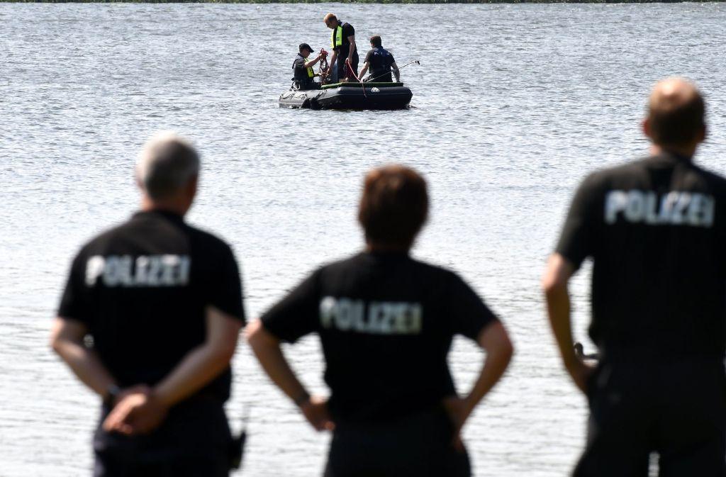In Mannheim ist ein Student in einem Badesee ertrunken (Symbolfoto). Foto: dpa