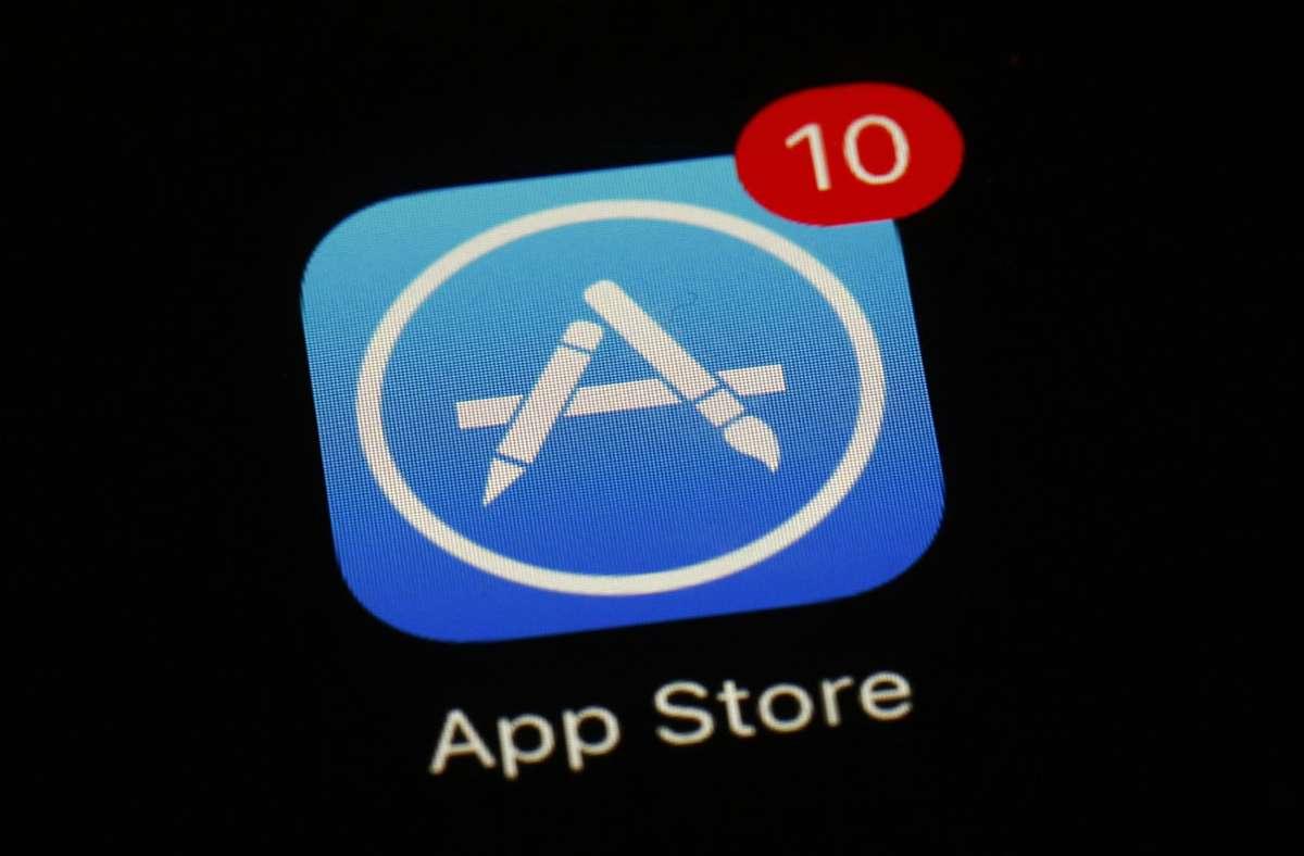 """Viele Spiele im App Store von Apple basieren auf der """"Unreal""""-Engine von Epic Games, die mit der Sperre aus dem Angebot fliegen würden. Foto: AP/Patrick Semansky"""