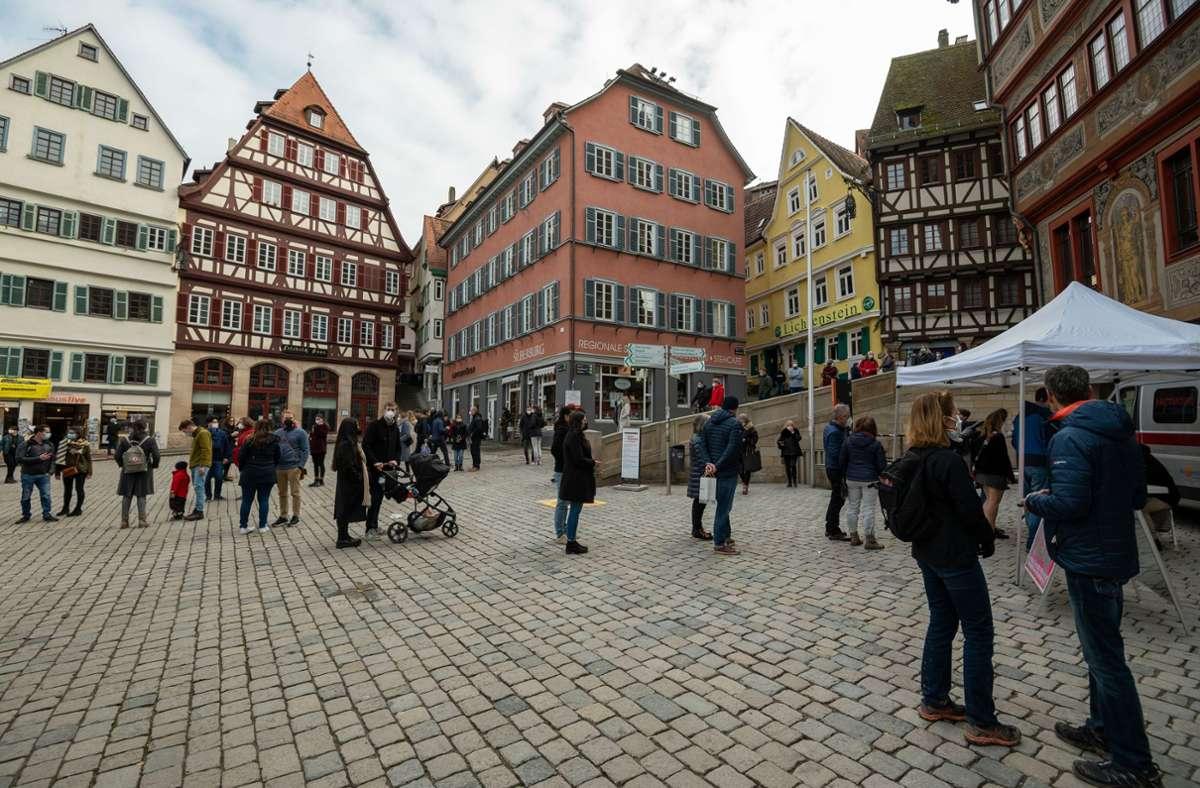 Nicht nur in Tübingen, sondern im gesamten Landkreis treten Lockerungen in Kraft. (Archivbild). Foto: LICHTGUT/Leif Piechowski