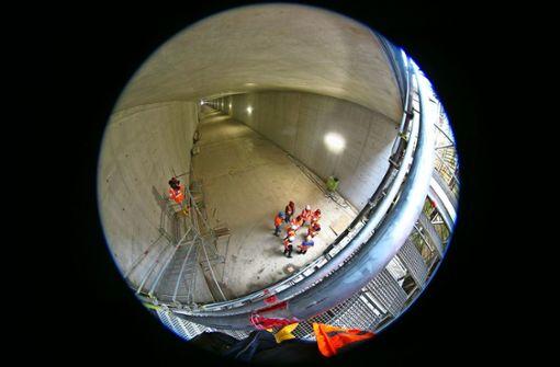 Halbzeit beim Bau des Tunnels