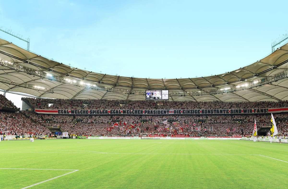 60000 Menschen finden Platz in der Stuttgarter Mercedes-Benz-Arena. Foto: imago/ ULMER Pressebildagentur